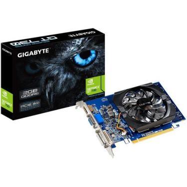 Placa de Vídeo Gigabyte GeForce GT 730 2GB - GDDR5 64 bits GV-N730D5-2