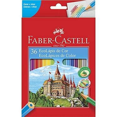 Lápis De Cor 36 Cores - Sextavado Faber Castell