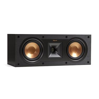 Klipsch Reference R-25C - Caixa acústica central para Home Theater Preto