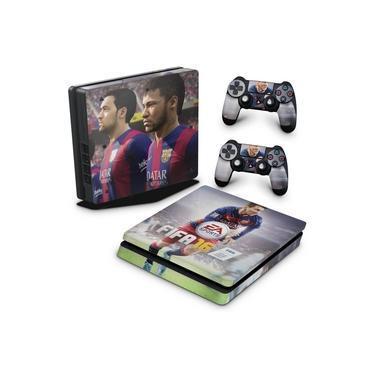 Skin Adesivo para PS4 Slim - Fifa 16