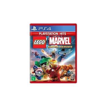 Lego marvel super heroes ps4 legendado em português