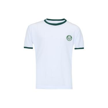 Camiseta do Palmeiras Dry Meltex - Infantil - BRANCO Meltex 9b31066a07c21