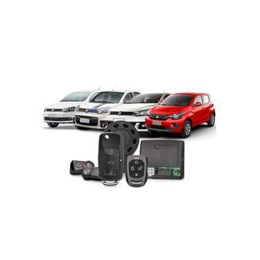 Alarme Automotivo Taramps Tw20ch G3 2 Controles Chave Canivete Função Bloqueio Motor Anti Assalto