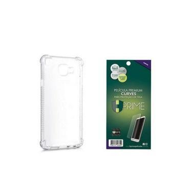 Kit Hprime Película Curves Pro 3 + Capa Para Galaxy Note 10