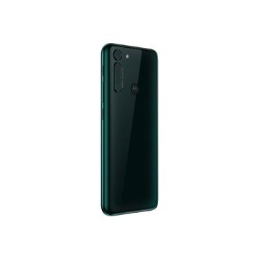 "Smartphone Motorola One Fusion Dual Chip Android tela 6.5"" 128GB Wi-Fi Câmera 48MP+8MP - Verde Esmeralda"