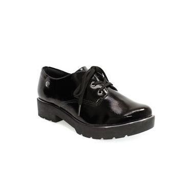 Sapato Feminino em Verniz Quiz Preto