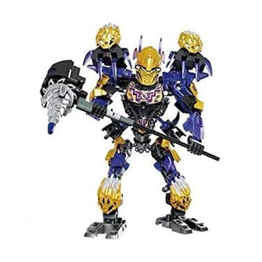 Imagem de LDZZ Xsz Máscara biônica de guerreiro bioquímico de luz Bionicle Umarak Hunter Brinquedos sem caixa original