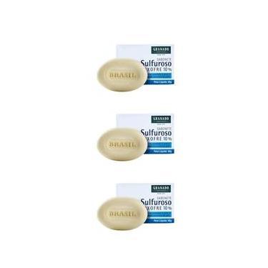 Granado Sulforoso Enxofre 10% Sabonete 90g (Kit C/03)