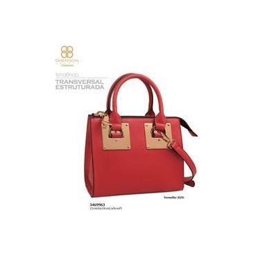 ebf25b1f2 Bolsa Chenson Vermelho | Moda e Acessórios | Comparar preço de Bolsa ...