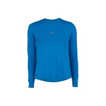 Camiseta Manga Longa Speedo UV Protection - Feminina