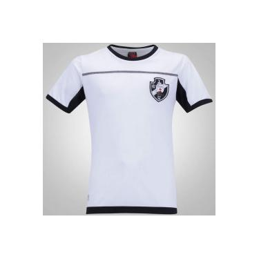 d1809b49decf8 Camiseta do Vasco da Gama Land - Infantil - BRANCO PRETO Braziline