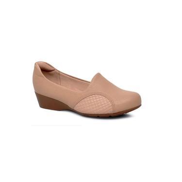 Sapato Scarpin Anabela Modare Bege 7014