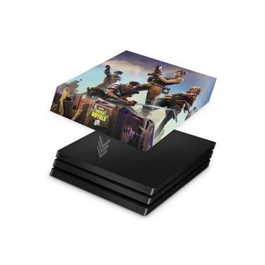 Capa Anti Poeira para PS4 Pro - Fortnite Battle Royale