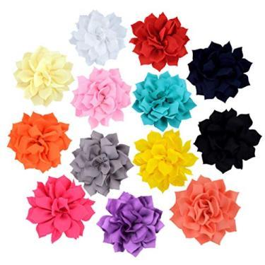 POPETPOP 8 peças Coleira de flor de cachorro Acessório-Coleiras de cachorro Arco para Animais de Estimação de Arco Coleiras de Flores para Puppy Collar Acessórios de cuidados 9 cm