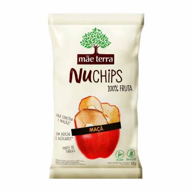 Chips Mãe Terra Nuchips Maçã Desidratada com 32g 32g