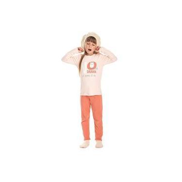Pijama Infantil Menina LLAMA Bela Notte-6