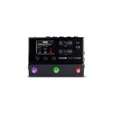 Imagem de Pedaleira Line 6 Helix Hx Stomp Moduladora De Amp E Efeitos