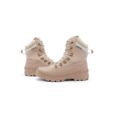 Bota Coturno Militar Força e Honra Touro Boots Acero Masculina Bege