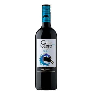 Vinho Gato Negro Merlot 750ml - San Pedro