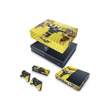 Capa Anti Poeira e Skin para Xbox One Fat - Lego Batman