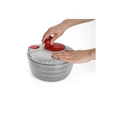 Secador de Saladas Frutas Centrífuga Manual Com Trava de Segurança Up