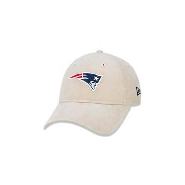 Bone 9Twenty New England Patriots Nfl Aba Curva Strapback Areia New Era