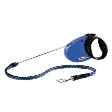 Guia Flexi Confort Medium 20kg 5mt Corda Azul