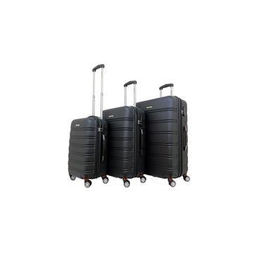 Kit Conjunto 3 Malas Rígidas 360° com TSA - Gladiador A3