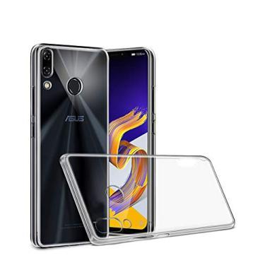 Capa Para Asus Zenfone 5 5Z 2018, Cell Case, Asus Zenfone 5/5z 2018, Capa Protetora Flexível, Transparente