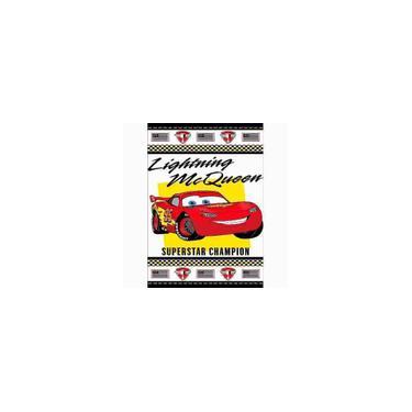 Imagem de Toalha de Banho felpuda 67cm x 1,20m infantil Carros Disney