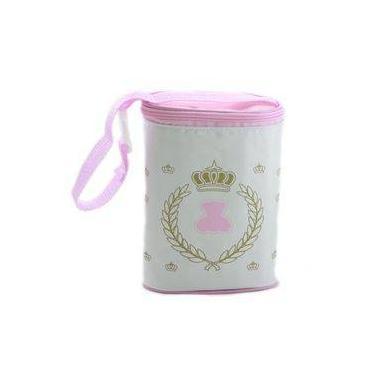 Porta Mamadeira Térmico Duplo Lipi Baby - Rosa