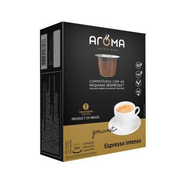Cápsula Para Nespresso 10 Cápsulas Café Intenso Aroma