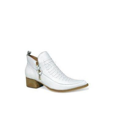 Imagem de Sapato Branco Despojado Dina Mirtz