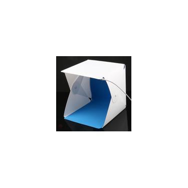 Imagem de Mini Studio Fotográfico Dobrável Iluminação Tenda Box Led