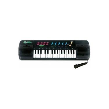Teclado Infantil Piano Brinquedo Musical Com Karaoke E Microfone Para Crianças!