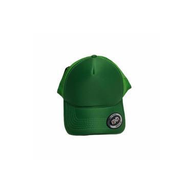 Boné Trucker Verde Bandeira