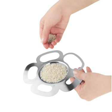 Medidor de arroz e massa aço inox igenietti 15cm