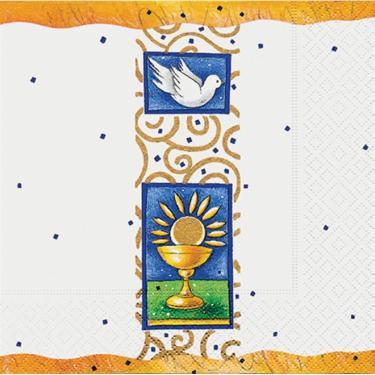 Guardanapo de Papel Macio Estampa de Natal Copo de Comunhão