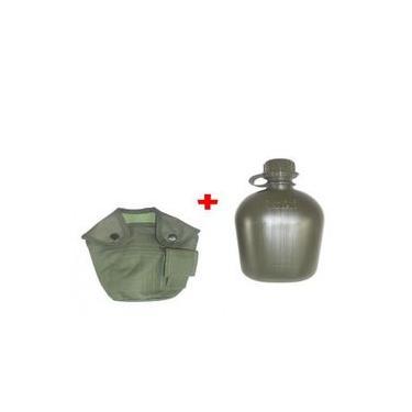Cantil Militar com Porta Cantil e Passador Preto ou Verde