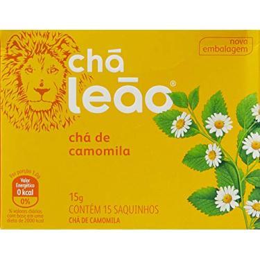 Chá de Camomila Leão Fuze com 15 Saquinhos