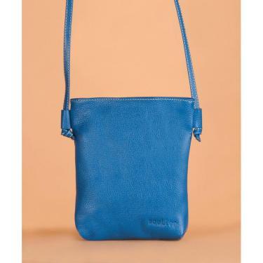 Bolsa Soulier Bolsinha Delicada Azul  feminino