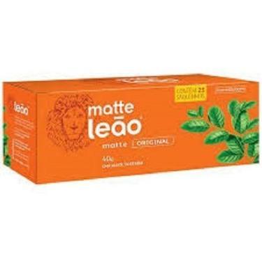 Chá Mate Leão Original Com 25 Saquinhos- Kit Com 2 Caixas