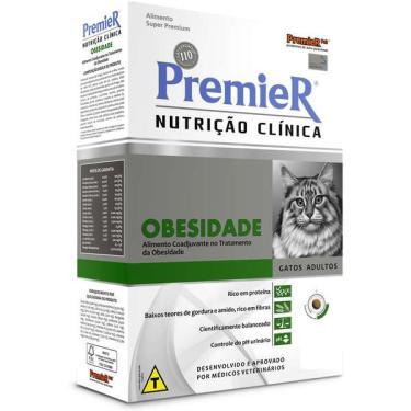 Ração Premier Nutrição Clínica para Gatos Obesidade - 1,5 Kg