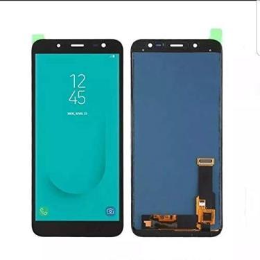 Display Frontal LCD Samsung Galaxy J8 j810 Primeira linha Preto