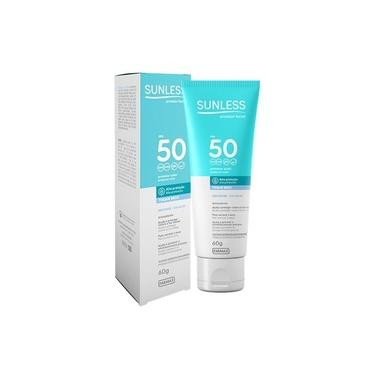 Protetor Solar Facial Sunless - Fps 50 - Sem Base - 60g