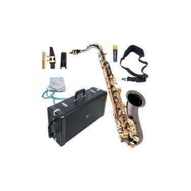 Imagem de Saxofone Tenor Eagle ST503 Preto Ônix com Chaves Laqueadas