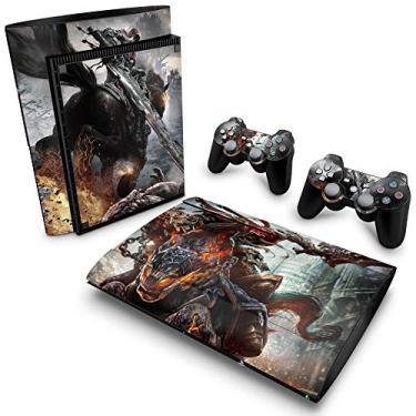 Skin Adesivo para PS3 Super Slim - Darksiders Wrath Of War