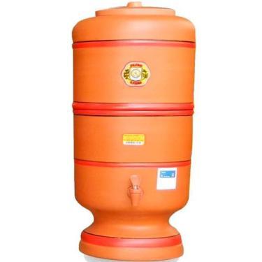Filtro De Barro São Pedro 2 Litros - Com Boia e Vela Tripla Ação