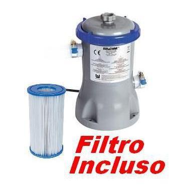 Imagem de Bomba Filtrante Piscina Bestway 2006 Lh 110V Com Filtro 58384