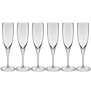 6 Taças Para Espumante 240ml Cristal Ym25-5170 Oxford